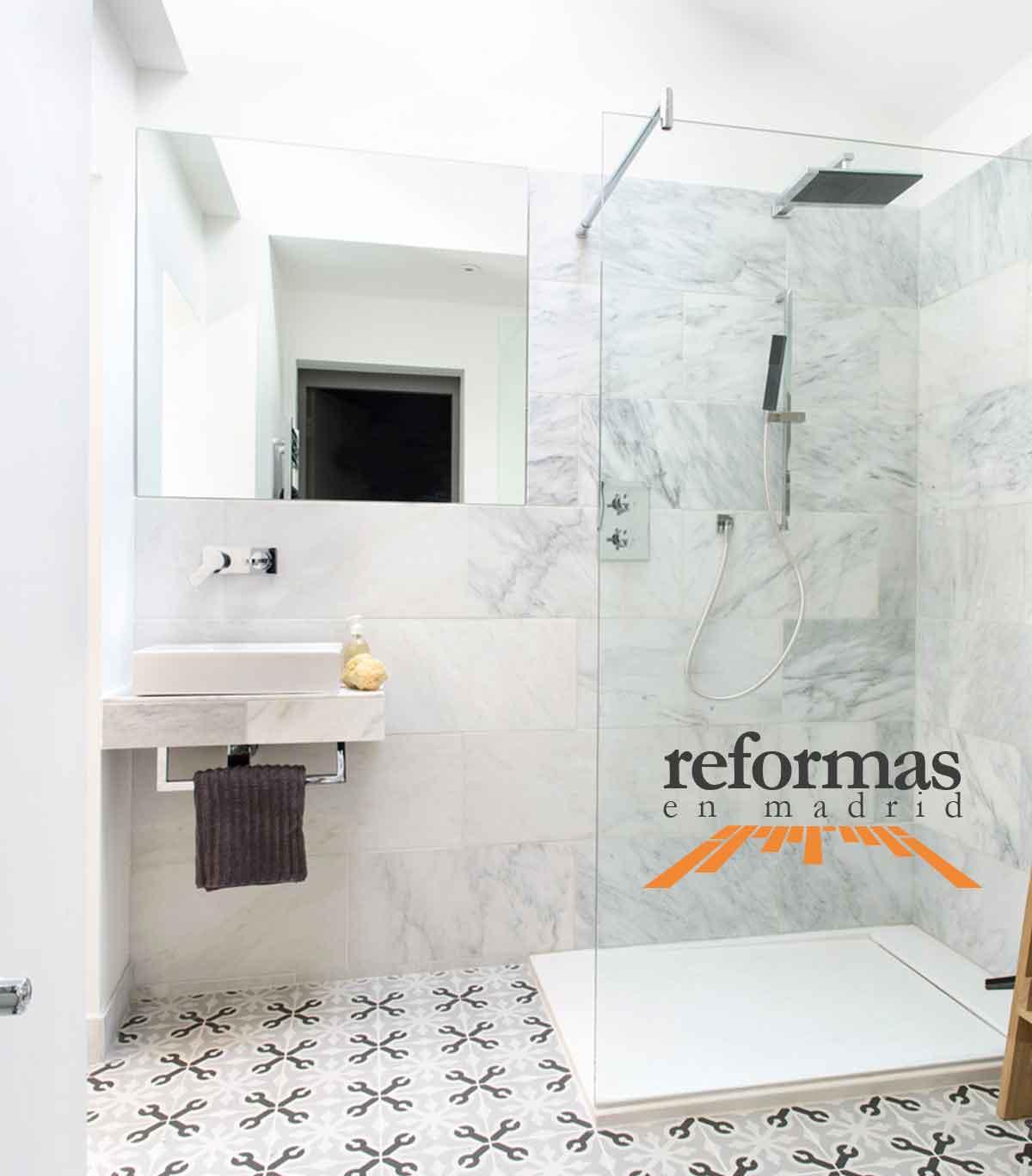 Trabajos de reformas de baños en Madrid